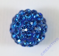 Shamballa Bead 12mm royalblau