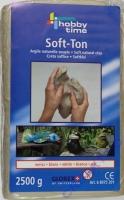 Soft-Ton 2,5kg weiß
