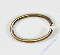Zwischenteil für Ketten - oval 15x10mm