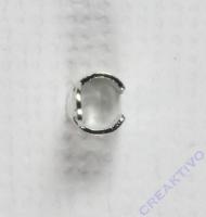 Endkappe silber 2mm