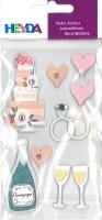 Heyda Sticker Hochzeitstorte