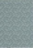 Transparentpapier A4 Paisley weiß (Restbestand)