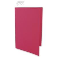 Karte A5 297x210mm 220g pink