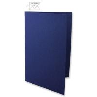 Karte A5 297x210mm 220g nachtblau
