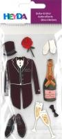 Heyda Sticker Hochzeitsanzug
