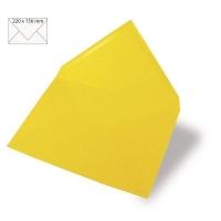 Kuvert A5 220x156mm 90g sonnengelb