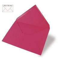 Kuvert A5 220x156mm 90g pink