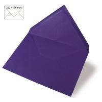 Kuvert A5 220x156mm 90g violett