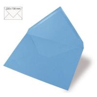 Kuvert A5 220x156mm 90g azurblau
