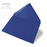 Kuvert A5 220x156mm 90g royalblau