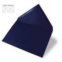 Kuvert A5 220x156mm 90g nachtblau