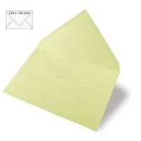 Kuvert A5 220x156mm 90g pastellgrün