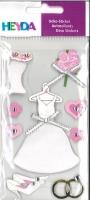 Heyda Sticker Hochzeitskleid
