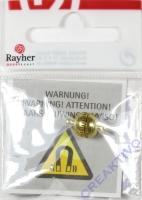 Rayher Magnetverschluss 7mm gold