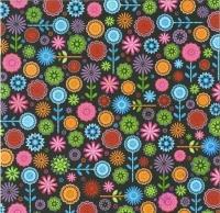 Premium Glitter Scrapbook paper Blossom 172