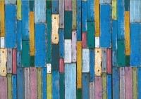 Motiv-Fotokarton 300g/qm 49,5x68cm Holz bunt