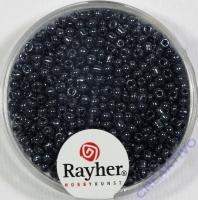 Rocailles 2 mm ø mit Silbereinzug blutstein