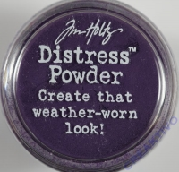 Distress Powder Embossing-Puder Dusty Concord