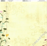 Scrapbooking Papier Bo Bunny Sophies Notebook (Restbestand)