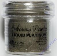 Ranger Embossing Puder liquid platinum 17g