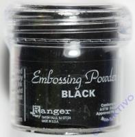 Ranger Embossing Puder black 15g