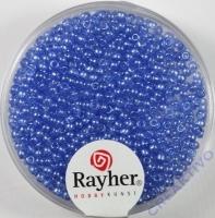 Rocailles verwachst 2mm bayrisch blau