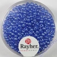 Rocailles verwachst 2,6mm bayrisch blau