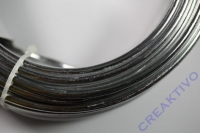 Alu Draht 5mm silber Meterware