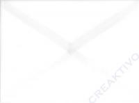 Transparenter Umschlag B6 weiß (Auslaufartikel)