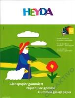 Glanzpapier-Heft (Buntpapier)