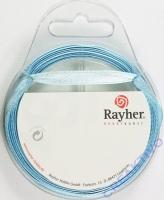 Rayher Satinband 7mm 10m hellblau