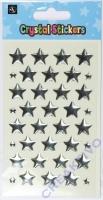 Crystal Stickers Sterne 5mm und 15mm 3D-Sticker
