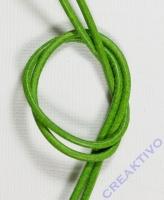 Rundriemen Lederband aus Rindleder 100cm 2mm apfelgrün