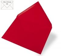 Kuvert C6 156x110mm 90g kardinalrot