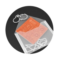 Sizzix Accessory - Plastic Envelopes, 5 x 6 7/8, 3 Pack