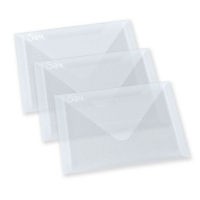 Sizzix Accessory - Plastic Envelopes, 5 x 6 7/8, 3 Pack