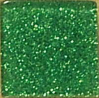 Acryl-Mosaik, 1x1 cm, Glitter, wiesengrün