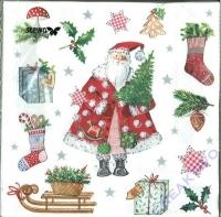 Servietten 33 x 33 cm Weihnachten