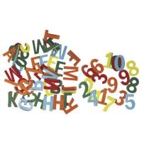 Filz-Buchstaben und Zahlen 4cm