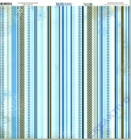 Scrapbooking Papier Powder Mountain - Stripes