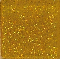 Acryl-Mosaik, 1x1 cm, Glitter, champagner gold