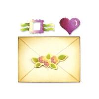 Sizzix Embosslits XL Die - Envelope, 2-D & Seals