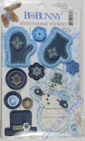 Dimensional Stickers Powder Mountain (Restbestand)