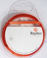 Rayher Satinband 3mm 10m orange