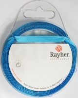 Rayher Satinband 7mm 10m türkis