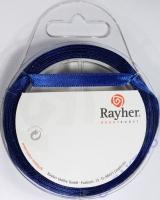 Rayher Satinband 7mm 10m dunkelblau