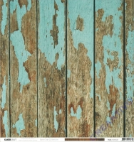 Scrapbooking Papier Base Coat - Distressed (Restbestand)