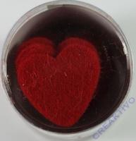 Filz-Stanzteile Herz