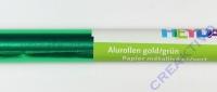 Alufolie gold/grün