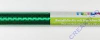 Bastelfolie Alu mit Sternchen grün